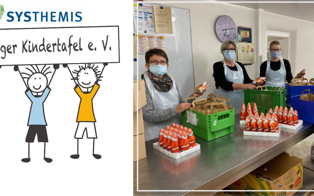 SYSTHEMIS AG spendet an die Würzburger Kindertafel